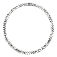 Small Sterling Silver Cuban Link Necklace