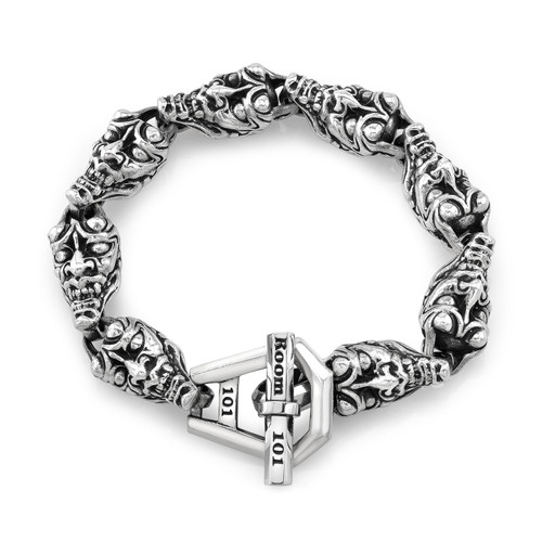 Medium Hannya Link Bracelet