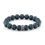 10 mm Hematite Bead Bracelet