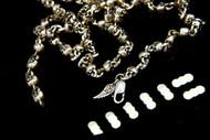 Sterling Silver Mini Skull Necklace