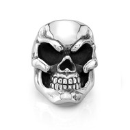 Sterling Silver 06 Skull Ring/size 10