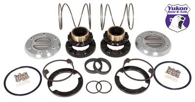 Yukon Hardcore Locking Hub set for Dana 44, GM & Ford 1/2 & 3/4 ton, 19 spline