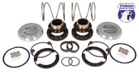 Yukon Hardcore Locking Hub set for '00-'08 Dodge 1-ton front with Spin Free kit