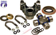 Yukon replacement trail repair kit for Dana 60 with 1350 size U/Joint and u-bolts