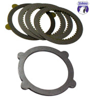 "8"" & 9"" Ford 4-Tab Clutch kit with 9 pieces"