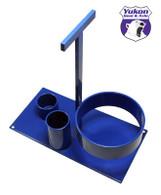 Bearing puller tool rack