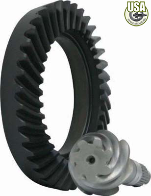 USA Standard Ring & Pinion gear set for Toyota V6 in a 4.56 ratio, 29 spline pinion