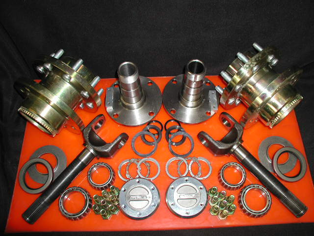 EMS Offroad Hub Conversion Kit for Dana 60 & AAM, 00-08 DRW Dodge