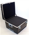 """Platt 222214AH Heavy Duty Polyethylene ATA Case w/ Recessed Hardware, Telescopic Wheels and Handle with Built-In TSA Lock"" (platt_222214AH)"