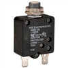THERMAL CIRCUIT BREAKER 1AMP RATING PUSH BUTTON RESET .250 INCH QUICK CONNECT TERMINALS (nte_R58-1A)