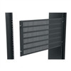 "HINGED 6 SPACE (10 1/2"") VENTED ACCESS PANEL (midatl_APV-6)"