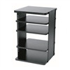 """ADJUSTABLE SLIDE OUT ROTATING SHELVING SYSTEM, 5 SHELVES"" (midatl_ASR-36)"