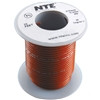 HOOK UP WIRE 300V STRANDED TYPE 18GAUGE BROWN 25 FEET (nte_WH18-01-25)