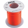 HOOK UP WIRE 300V STRANDED TYPE 18GAUGE ORANGE 25 FEET (nte_WH18-03-25)
