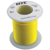 HOOK UP WIRE 300V STRANDED TYPE 18GAUGE YELLOW 25 FEET (nte_WH18-04-25)