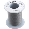 HOOK UP WIRE 300V STRANDED TYPE 18GAUGE GRAY 25 FEET (nte_WH18-08-25)