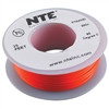 HOOK UP WIRE 300V STRANDED TYPE 24GAUGE ORANGE 25 FEET (nte_WH24-03-25)