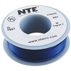 HOOK UP WIRE 300V STRANDED TYPE 24GAUGE BLUE 25 FEET (nte_WH24-06-25)