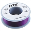 HOOK UP WIRE 300V STRANDED TYPE 24GAUGE VIOLET 25 FEET (nte_WH24-07-25)