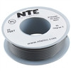 HOOK UP WIRE 300V STRANDED TYPE 24GAUGE GRAY 25 FEET (nte_WH24-08-25)
