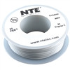 HOOK UP WIRE 300V STRANDED TYPE 24GAUGE WHITE 25 FEET (nte_WH24-09-25)