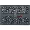 """BGR Series M11 Fan Top With Control, 22.378 Inch Width x 1.53 Inch Depth x 8.715 Inch Height, Steel, Black, 276 CFM"" (midatl_BGR-276FT-FC)"