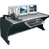 """Lcd Monitoring Desk, 48 Width, 30 Height, Pepperstone Finish"" (midatl_LD-4830PS)"