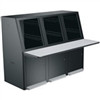 """CONVECTIVE SERIES 3 BAY CONSOLE CONFIGURATION, BLACK FINISH"" (midatl_SC-3BK)"