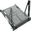 """4 Space Heavy Duty Sliding Shelf, 4 RU, 19 Inch Width x 23 Inch Depth x 8.71 Inch Height, Steel, Black"" (midatl_SS4-23VTR)"