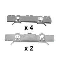 VAUXHALL ASTRA 1998 - 2004 WINDSCREEN SIDE CLIP KIT PACK OF 6