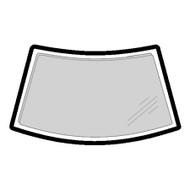 RENAULT TWINGO 1993 - 2005 WINDSCREEN MOULDING