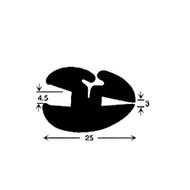 3/16 X 1/8 (4.5mm x 3mm) CLAYTONRITE PER METRE