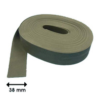 FLAT GLAZING STRIP CLOTH FINISH 10M ROLL (2.0mm x 38mm)