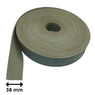 FLAT GLAZING STRIP CLOTH FINISH 10M ROLL (3.0mm x 38mm)