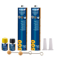 2 x DINITROL 500 WINDSCREEN FITTING KIT BONDING ADHESIVE GLUE SEALANT GLASS OEM