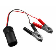 SENSOR TACK Cable from Cigar lighter female with battery clamps