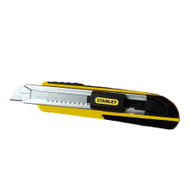 STANLEY 'FATMAX' RETRACTABLE SNAP OFF KNIFE with 18mm BLADE use blades RBB18010DD, RBB18050PD, RBN18010PD, RBN18010PDSB, RBN18050PD.