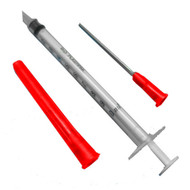 REJEL INJECTOR NEEDLE & SYRINGE SET FOR WINDSCREEN REPAIR