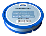 WINDSCREEN REMOVAL FIBRE CORD BLUE OVAL HD 1.25mm x 50M