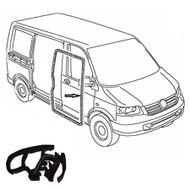 VW TRANSPORTER T5/T6 (03-ON) BODY SIDE DOOR SEAL Caravelle