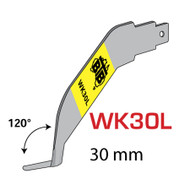 BTB RIGHT HAND POWER COLD KNIFE BLADE - 30mm BLADE 120°