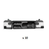 BMW X3 F25 (10-17) WINDSCREEN SIDE MOULDING CLIPS (10)