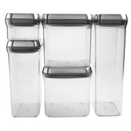 OXO Steel Pop 5 Piece Container Set