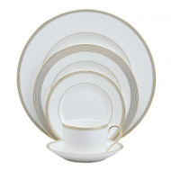 Vera Wang Wedgwood Golden Grosgrain Dinnerware Set (Service for One)