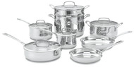 Cuisinart Contour Stainless Cookware 13 Pc. Set