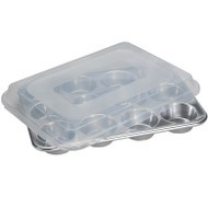 Nordic Ware 12 Cavity Muffin Pan & Lid