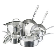 Farberware Millennium Stainless Steel 10 Pc. Cookware Set