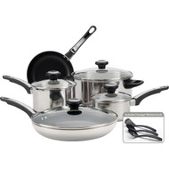 Farberware High Performance Stainless Steel 12 Pc. Cookware Set