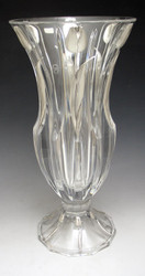 Crystal & Sterling Silver Vase 208512