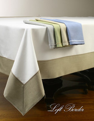 European Loft Border Tablecloth